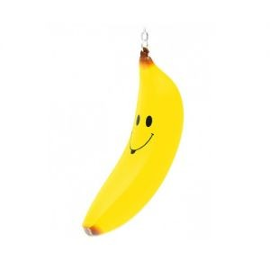 Брелок Банан со смайлом