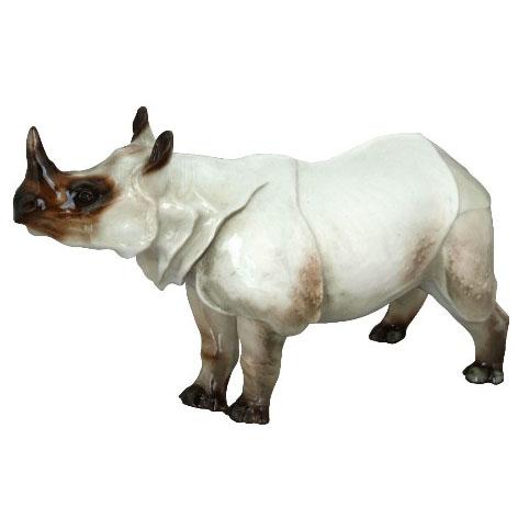 Анималистическая скульптура «Носорог»