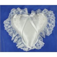 Подушечка для колец Свадебная ручной работы
