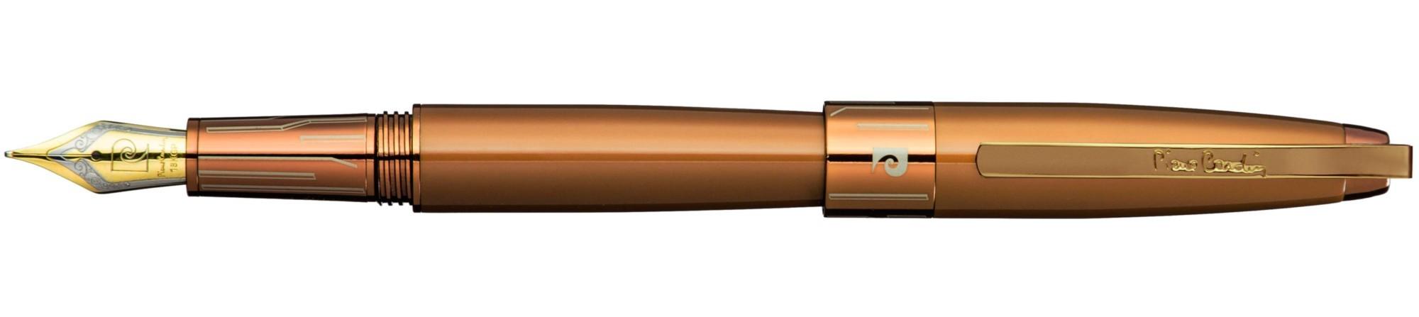 Оранжевая перьевая ручка Pierre Cardin Roi