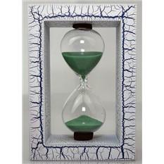 Песочные часы Паутинка, синие