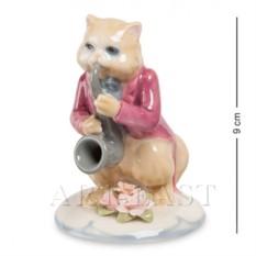 Фигурка Кот с саксофоном (Pavone)