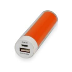 Оранжевое портативное зарядное устройство Тианж 2200 mAh