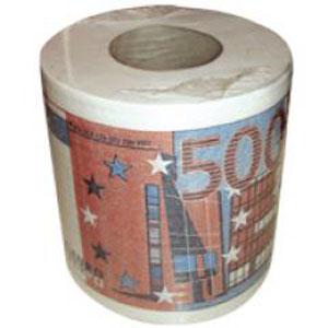 Туалетная бумага «500 евро»