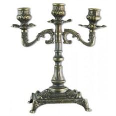 Канделябр на 3 свечи, размер 24x20x11 см