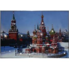 Картина с кристаллами Swarovski Собор Василия Блаженного