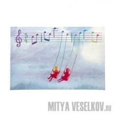 Обложка для автодокументов Ноты любви от Mitya Veselkov