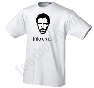 Мужская футболка Лик Доктора Хауса