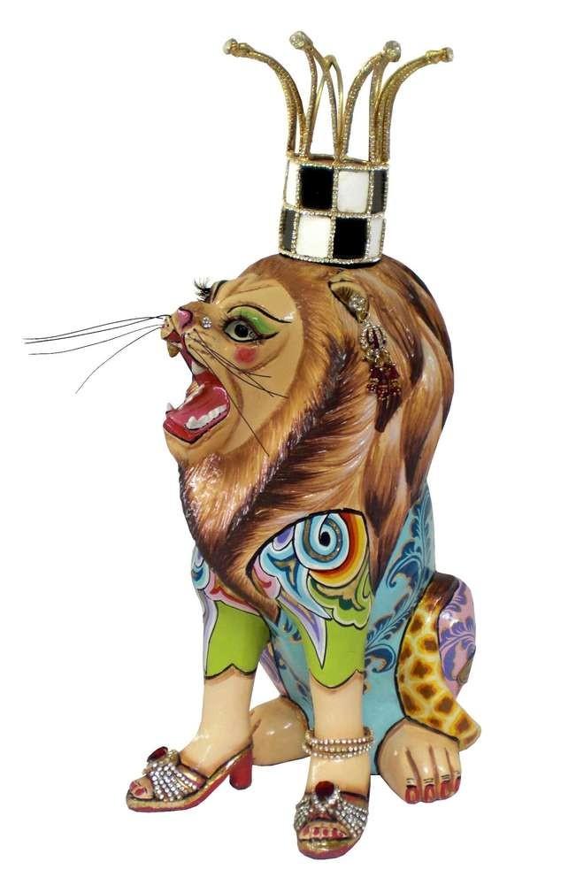 Скульптура Счастливый лев