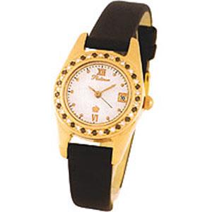 Женские наручные золотые часы Platinor