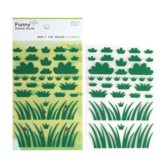 Декоративные наклейки Grass