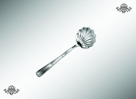 Серебряная ложка в форме раковины Наполеон
