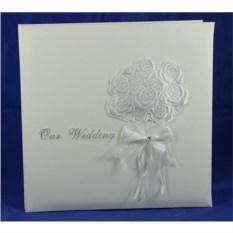 Свадебный фотоальбом ручной работы Букет невесты