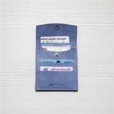 Кожаный холдер для автодокументов HK avto Mini – Jeans