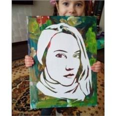 Набор художника для ребенка на день рождения