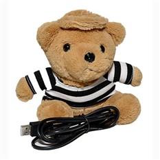 Веб камера в виде плюшевой игрушки Медведь матрос