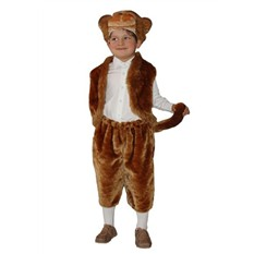 Карнавальный костюм Обезьянка (большой), 6-10 лет