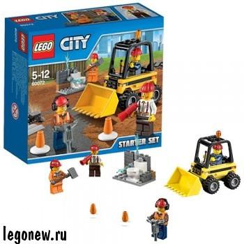 Конструктор Строительная команда (Lego City)
