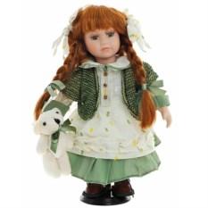 Фарфоровая кукла девочки Иришка
