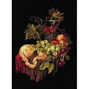 Набор для вышивания «Натюрморт с апельсином»