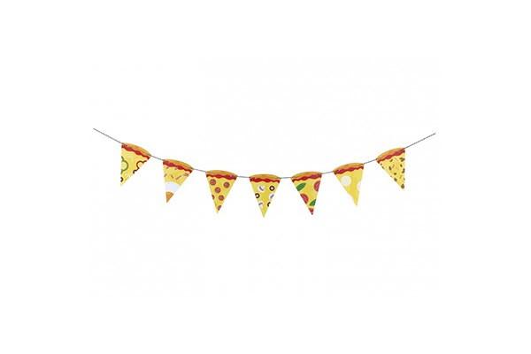 Гирлянда для вечеринки Pizza