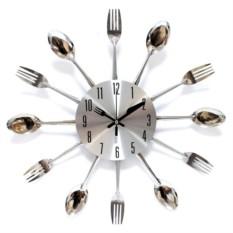 Часы настенные Вилкиложки металл
