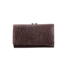 Женский коричневый кожаный кошелек Barkli