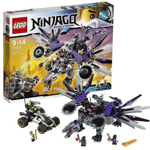Конструктор Lego Ninjago Дракон-ниндроид