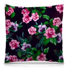 Подушка с полной запечаткой Розы в цвету