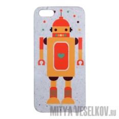 Чехол для IPhone 5 Влюбленный робот