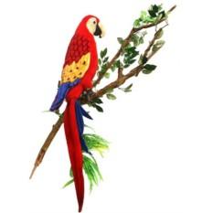 Мягкая игрушка Hansa Попугай Ара, 72 см