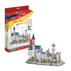 3D пазл Cubic Fun Замок Нойшванштайн (Германия)