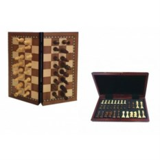 Настольная игра Шахматы с магнитом , размер 29х5,5х14,5см