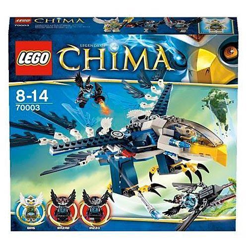 Конструктор Lego Legends of Сhima Перехватчик Орлицы Эриса