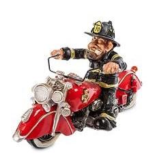 Фигурка Пожарный Байкер W.Srtatford