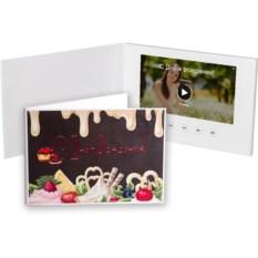 Видеобуклет с печатной обложкой и большим 7-дюймовым экраном