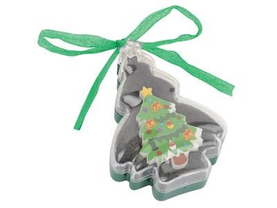 Набор: футляр в виде елки с флеш-картой USB 2