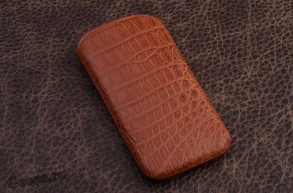 Чехол из кожи каймана для iPhone 5 «Весенний рассвет» FUERTE