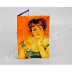 Обложка для паспорта «Портрет актрисы Жанны Самари»