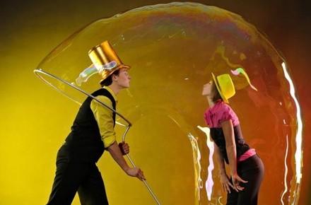 Подарочный сертификат Шоу мыльных пузырей