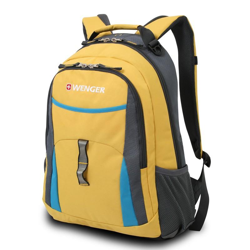 Рюкзак Wenger, 32x15x45 см, 22 л; Цвет: желтый