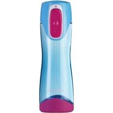 Спортивная бутылка для питья Swish (цвет — голубой)