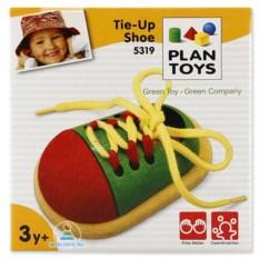 Деревянный башмачок-шнуровка деревянный Plan Toys
