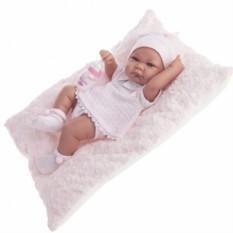 Кукла-младенец Ника в розовом