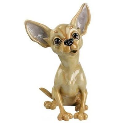 Фарфоровая фигурка собачки Tiffany
