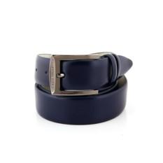 Темно-синий мужской кожаный ремень G.Ferretti тип 944963