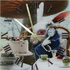 Часы с кристаллами Swarovski Время пить чай