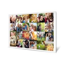 Холст с вашим фото «Яркий коллаж»