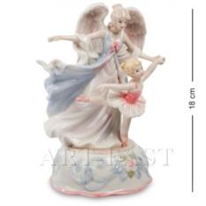 Музыкальная статуэтка Ангел и балерина (Pavone)