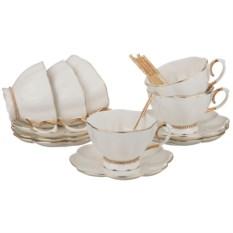 Чайный сервиз Изумление на 6 персон с ложками